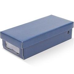 Caixa Organizadora para Sapatilhas 30x14x8cm Azul - Boxgraphia