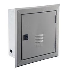 Caixa Padrão de Embutir Telebrás Home Center 20x20 Cm Cinza Ref.: Dy900402 - Pial Legrand