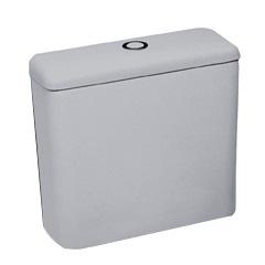 Caixa para Acoplar Ecoflush 3 E 6 Litros Azálea Cinza Prata - Celite