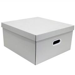 Caixa Quadrada Big Branco 20x40cm  - Boxgraphia