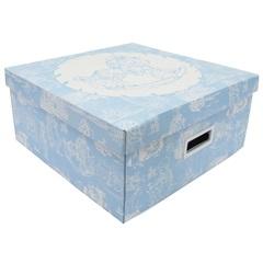Caixa Quadrada Big Média Azul 16x36cm  - Boxgraphia