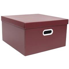 Caixa Quadrada Big Vermelho 20x40cm  - Boxgraphia