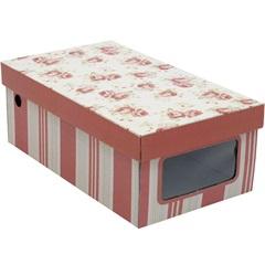 Caixa Separada Sapato com Visor Emily 11x18cm  - Boxgraphia