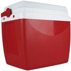 Caixa Térmica 26 Litros Vermelha 25108172 - Mor