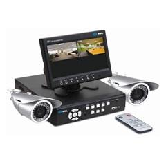 Câmeras com Gravador Hd 500 Gb Kit Cftv com 2 Câmeras - HDL