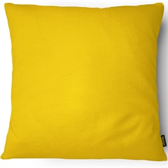 Capa para Almofada em Veludo Velveteen 43x43cm Amarela - Casanova