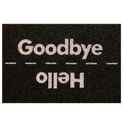 Capacho Super Print Hello Good Bye 40 X 60 Cm - Kapazi