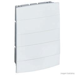 Centro de Embutir para 12 a 16 Disjuntores Unic Branco 608102 - Pial