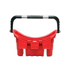 Cesta Flexível com Compartimento para Ferramentas Vermelha - Keter