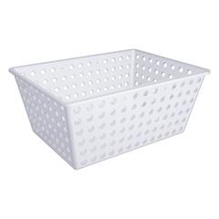 Cesta Organizadora Maxi Branco 29,2x38,2cm  - Coza