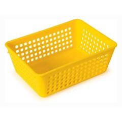 Cesta Plástica Amarela - Casanova