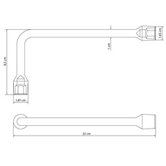 Chave Biela em Aço 11mm Cromada - Tramontina