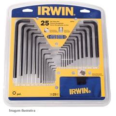 Chave Hexagonal Curta E Longa 25 Peças 10761 - Irwin