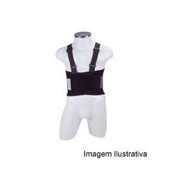 Cinto Ergonômico Work Preto Tamanho G - Dura Plus