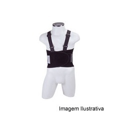 Cinto Ergonômico Work Preto Tamanho P - Dura Plus
