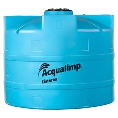 Cisterna Equipada para Rede Pública 10000 Litros com Bomba 110v Azul - Acqualimp