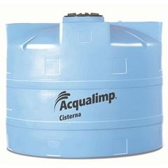 Cisterna Equipada para Rede Pública 2800 Litros com Bomba 110v Azul