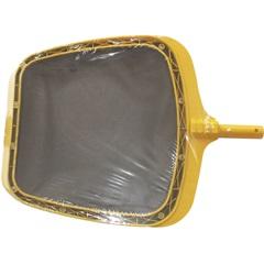 Coador de Folhas para Piscina 41cm Amarelo - Jacuzzi