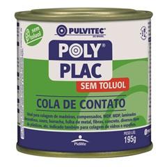 Cola de Contato 195 Gramas sem Toluol - Pulvitec
