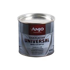 Cola Plástica de Secagem Rápida Branca 900g    - Anjo