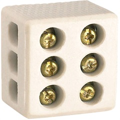 Conector de Porcelana 30a 1p - Conecte