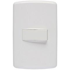 Conjunto 1 Interruptor Simples 4x2 Duale Up 851011 - Iriel