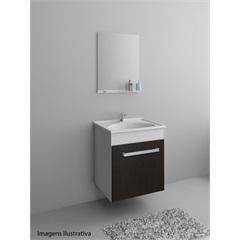 Conjunto Cabinete Smart 400 Branco - Gaam