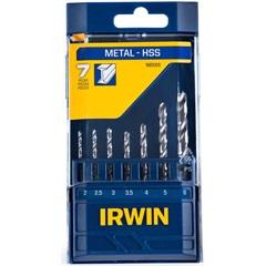 Conjunto de Brocas para Metal com 7 Peças  - Irwin