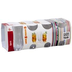 Conjunto de Copos Long Drink Ópera Leve 8 Pague 6 Peças 360 Ml - Nadir