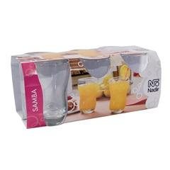 Conjunto de Copos Long Drink Samba 410 Ml com 6 Copos   - Nadir