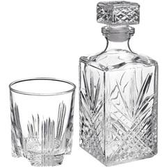 Conjunto de Copos para Whisky com Garrafa Selecta com 7 Peças - Bormioli Rocco