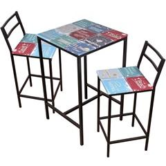 Conjunto de Mesa 2 Cadeiras - Importado