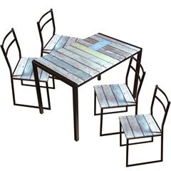 Conjunto de Mesa 4 Cadeiras  - Importado