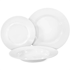 Conjunto de Pratos Orione 18 Peças Branco