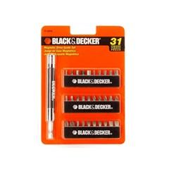 Conjunto de Soquetes Magnéticos com 31 Peças E Guia 71-931e - Black & Decker