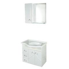 Conjunto Gabinete E Tampo Itri 60cm Branco - Darabas