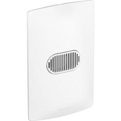 Conjunto Interruptor Simples 10a Nereya 4x2 Branco  - Pial Legrand