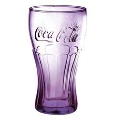 Copo Cola Cola Contour Lilás 473ml - Allmix
