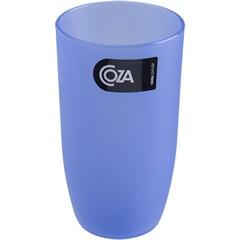 Copo de Plástico Alto Azul 400ml - Coza