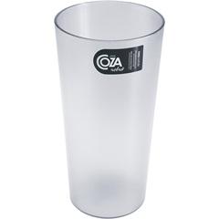 Copo de Plástico Retrô Transparente  500ml  - Coza