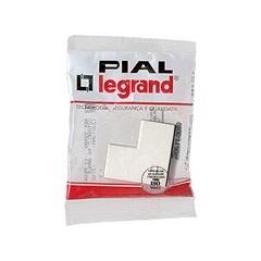 Cotovelo 90º Sistema X para Canaleta 20x10 Ref. 30990 - Pial Legrand