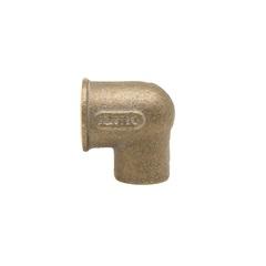 Cotovelo 90° em Latão sem Solda B 22 X Rf 3/4 - Ramo Conexões
