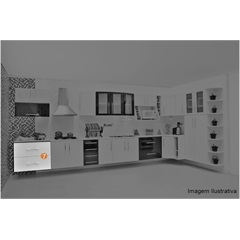 Cozinha Life Gabinete 2 Gavetas 80x67x56,5cm - Bonatto