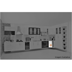 Cozinha Life Gabinete Canto Angular 80x67x80cm  - Bonatto