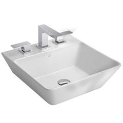 Cuba de Apoio para Banheiro Quadrada Branca 42x42cm - Deca