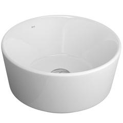 Cuba de Apoio para Banheiro Redonda Branca 36x36cm - Deca