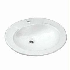 Cuba de Sobrepor Oval 52x44,5cm Branco  - Celite