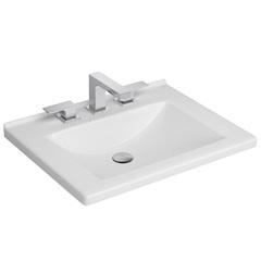 Cuba de Sobrepor para Banheiro Branca 55x45cm - Deca