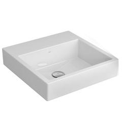 Cuba de Sobrepor para Banheiro Quadrada Branca 41,5x41,5cm - Deca
