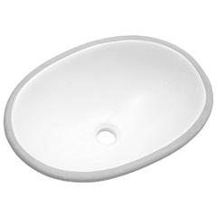 Cuba Oval de Embutir 49x36cm Branca Il6-00 - Icasa